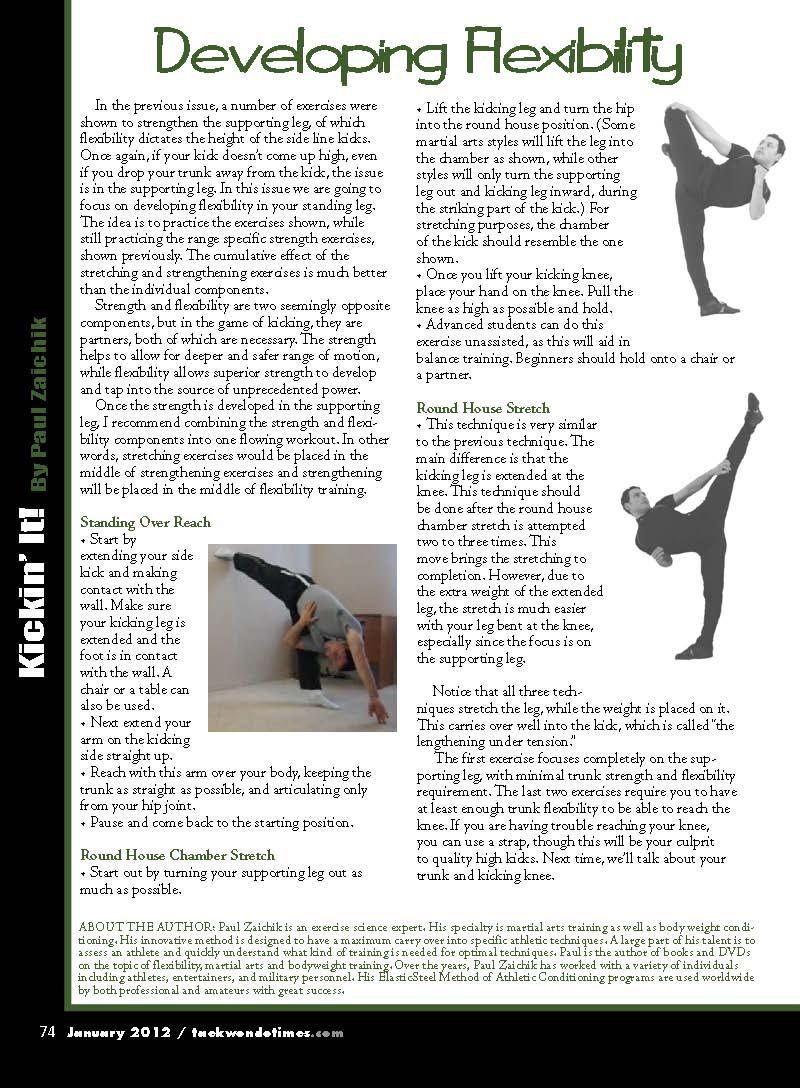 magazine articles about flexibility