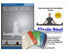 Strength & Flexibility Training Manual & Everything You Ever Wanted To Know About Splits DVD COMBO with 5 Resistance Bands FREE of charge!